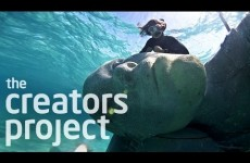 Building The World's Largest Underwater Sculpture